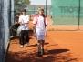 Tennis Anspielen am 1. Mai 2011