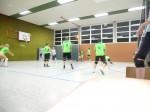 Volleyball Mannschaft Hobbyrunde Mixed spielt sich warm